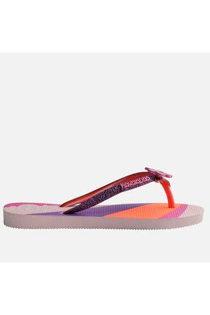 Havaianas Girls Flip Flops - Girls' Slim Glitter II Flip Flops