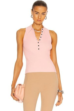 A.L.C. Women Tank Tops - Asher Top in Sand