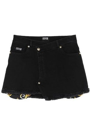 VERSACE Women Denim Skirts - DENIM - Denim skirts
