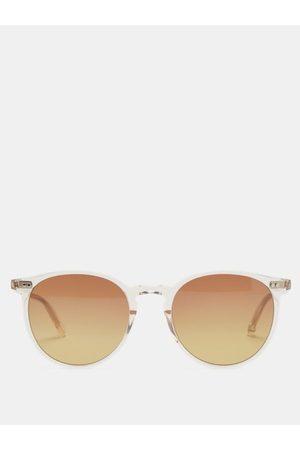GARRETT LEIGHT Morningside Round Cellulose-acetate Sunglasses - Mens
