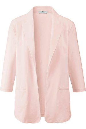 Peter Hahn Women Blazers - Jersey blazer pale size: 10