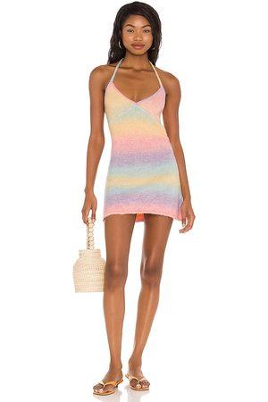 Frankies Bikinis Debbie Knit Dress in . Size XS, S, M.
