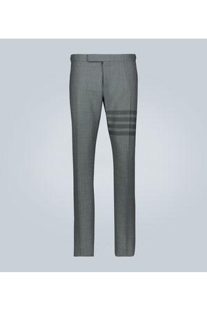 Thom Browne 4-Bar School Uniform wool pants