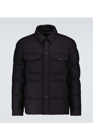 Tom Ford Padded cashmere and wool jacket