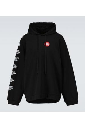 RAF SIMONS Oversized hooded sweatshirt