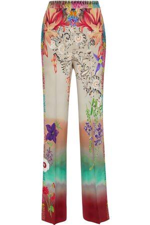 Etro Printed wide-leg pants