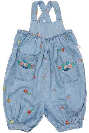 Stella McCartney Embroidered Lyocell Overalls