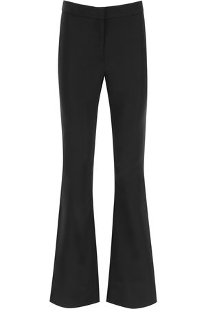 MOSCHINO FLARED SATIN TROUSERS 40