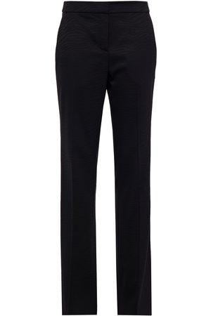 Redemption Woman Zebra-print Wool-blend Jacquard Slim-leg Pants Size 36