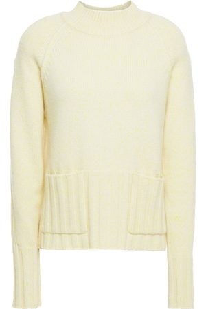 AUTUMN CASHMERE Woman Marled Cashmere Turtleneck Sweater Pastel Size L