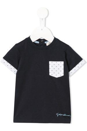 Emporio Armani Kids Short sleeve pocket T-shirt