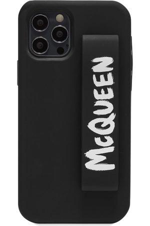alexander mcqueen Men Phones - Graffitti Logo Logo iPhone 12 Pro Cover
