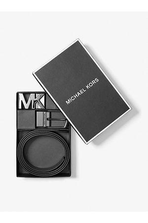 Michael Kors MK 4-In-1 Logo Belt Box Set - Admrl/plblue - Michael Kors