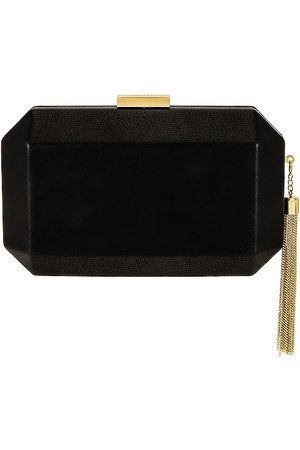 Olga Berg Lia Facetted Clutch With Tassel in .