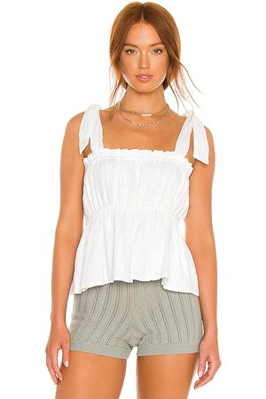 FAITHFULL THE BRAND Le Camille Top in . Size XS, S, M.