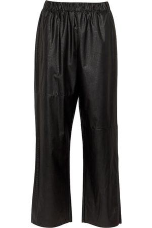 MM6 MAISON MARGIELA Faux leather pants