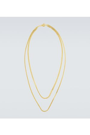 Orit Elhanati Plated double chain necklace