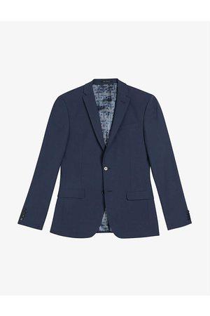 Ted Baker Sinjjs slim-fit wool-blend blazer