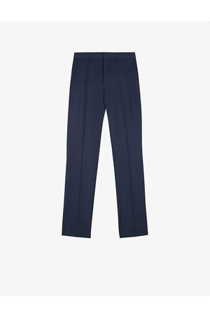 Ted Baker Sinjts slim-fit wool-blend trousers