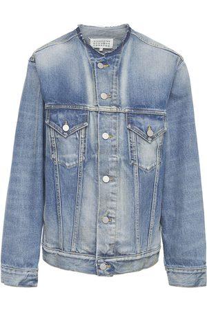 Maison Margiela Women Denim Jackets - Cotton Denim Jacket