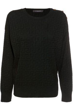 VERSACE Greek Series Wool Sweater