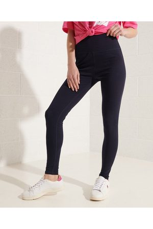 Superdry Women Leggings - Sportstyle Core Logo Leggings