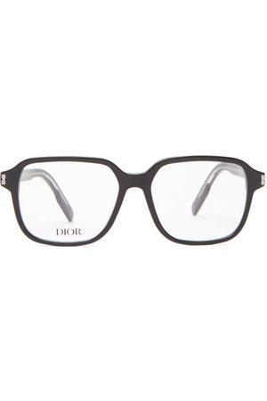 Dior Neo Square Acetate Glasses - Mens