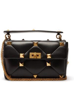 VALENTINO GARAVANI Roman Stud Quilted-leather Shoulder Bag - Womens