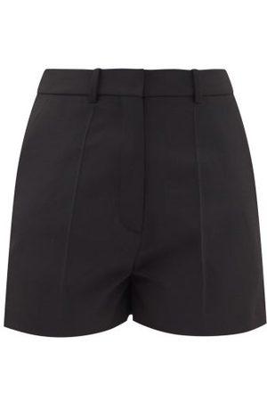 VALENTINO Women Shorts - High-rise Twill Shorts - Womens