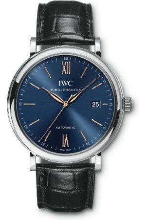 IWC SCHAFFHAUSEN Men Watches - Stainless Steel Portofino Automatic Watch 40mm