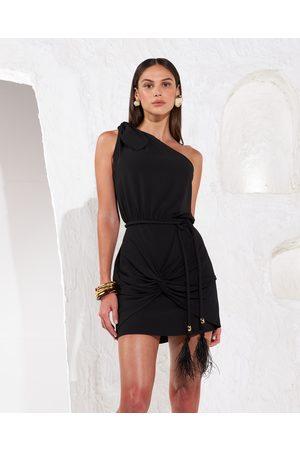 SKAZI Asymmetric Mini Dress