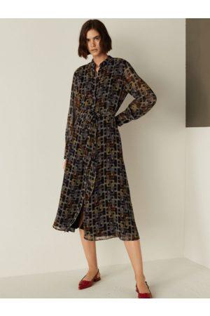 MARELLA ZOLDER Printed Maxi Dress 32212811
