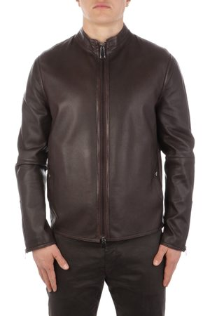 THE JACK LEATHERS Men Leather Jackets - MEN'S TOMMPLPE06 LEATHER OUTERWEAR JACKET