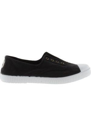 victoria Shoe DORA 106623 S21 No Lace Plimsoll Negro