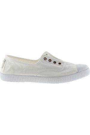 victoria Shoe DORA 106623 S21 No Lace Plimsoll White Blanco