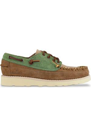 SEBAGO Campsides Cayuga Shoes - Agave/Camel/Cognac