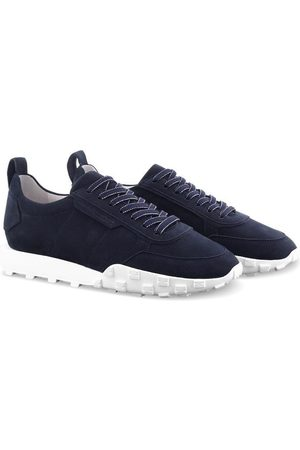 Kennel & Schmenger Women Trainers - Kennel and Schmenger Ocean Navy and White Soft Nubuck Trainer 51-26400-659-001