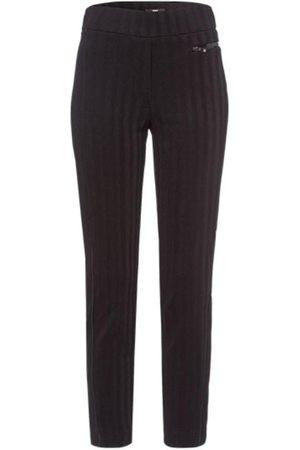 Riani Black Medium Weight Long Pull On Trouser 703260 5357 999 S