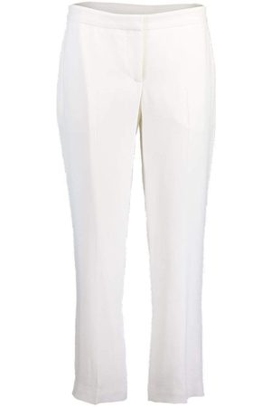 Alexander McQueen Ivory Cropped Trouser