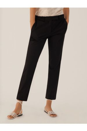 MARELLA ALFONSA Slim Fit Trousers Black 31311012 004