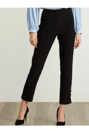 Joseph Ribkoff High Rise Black Capri Trousers 211117 (A)