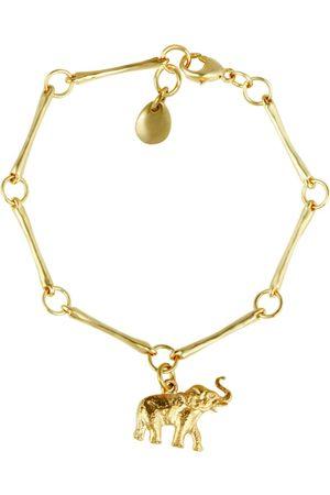 Van Peterson Elephant Charm Bracelet