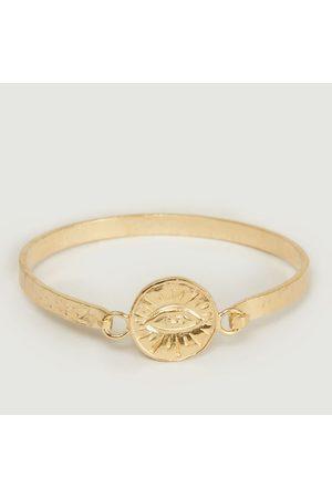 Monsieur Joseph yellow vermeil eye pattern bracelet Vermeil jaune