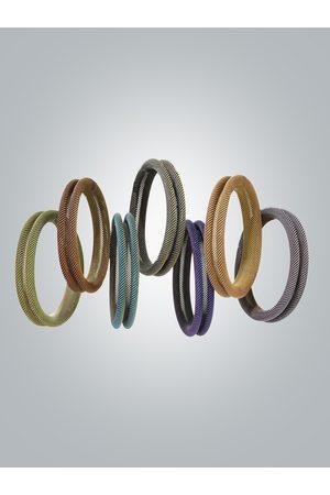 Sarah Cavender Metalworks Tonal Bracelets