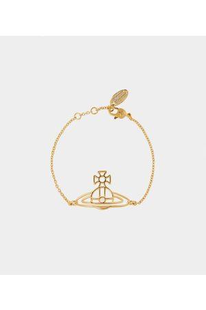 Vivienne Westwood Bracelets - Thin Lines Flat Orb Bracelet