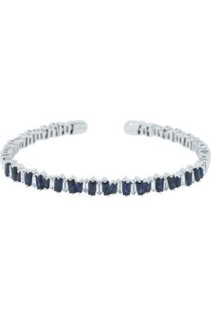 Suzanne Kalan Blue Sapphire Baguette Bracelet