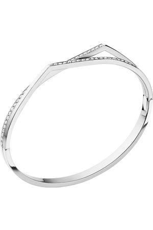 Repossi Antifer 2 Row Pave Diamond Bracelet