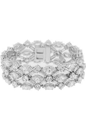 Fantasia By Deserio Round Marquise and Baguette Bracelet
