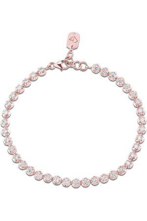 CARBON & HYDE Rosette Tennis Bracelet - Rose Gold