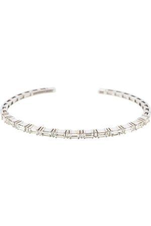 Suzanne Kalan Women Bracelets - Diamond Baguette Horizontal Bangle